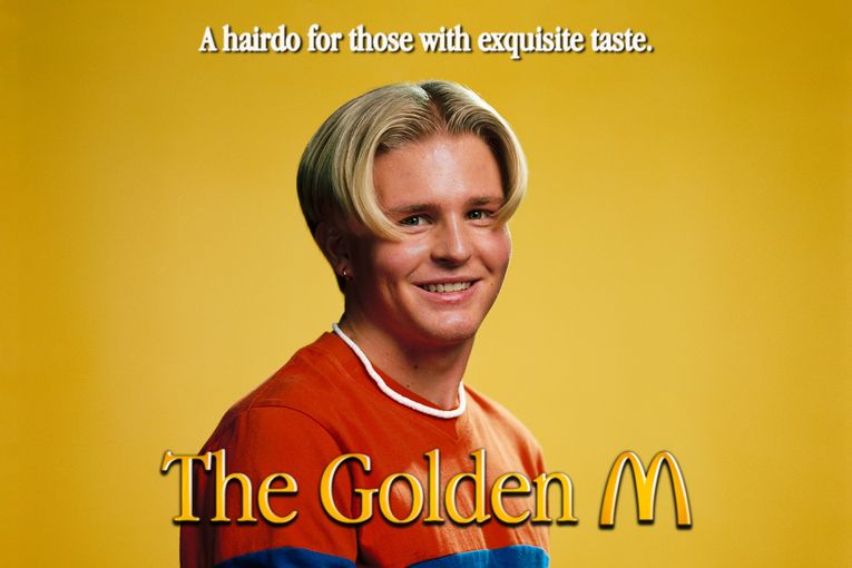 McDonald's will give you a Golden Arches hairdo at its virtual barber shop