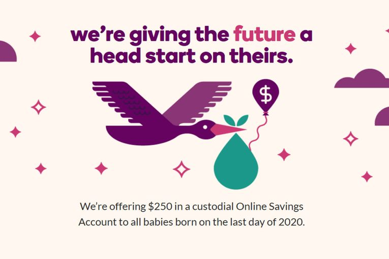 Ally will give $250 to all babies born on Dec. 31