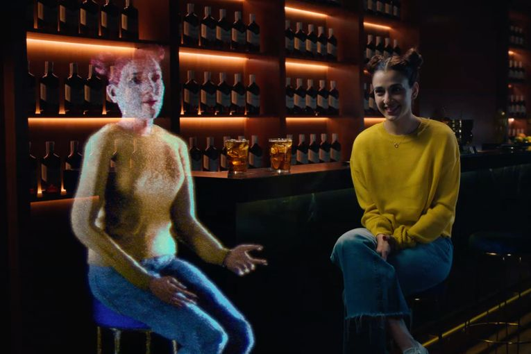Ballantine's social experiment uses people's digital data to help them confront their own fakeness