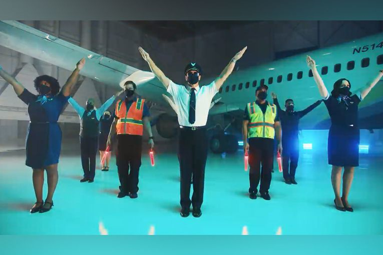 Alaska Airlines: Safety Dance