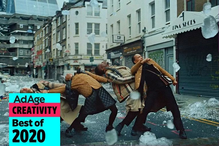 Best of 2020 No. 16: Burberry debuts a mesmerizing, modern take on 'Singin' in the Rain'