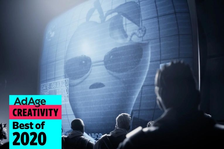 Best of 2020 No. 12: Fortnite's '1984' parody turns Apple into Big Brother