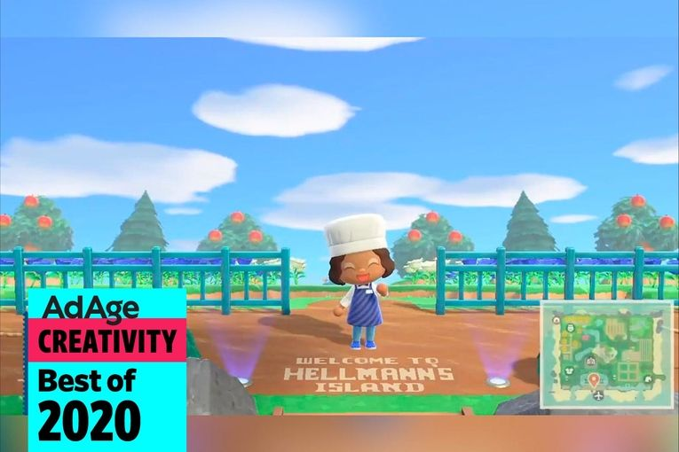 Best of 2020 No. 28: At Hellmann's 'Animal Crossing' island, players donate spoiled turnips to fund meals in real life
