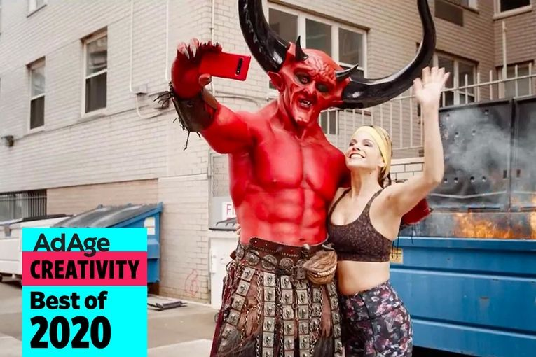 Best of 2020 No. 14: Satan has a whirlwind romance with 2020 in Ryan Reynolds' hilarious spot for Match