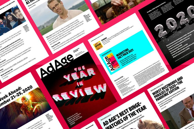 Looking back at the biggest newsmakers, buzzwords and trends of 2020: Ad Age Digital Edition