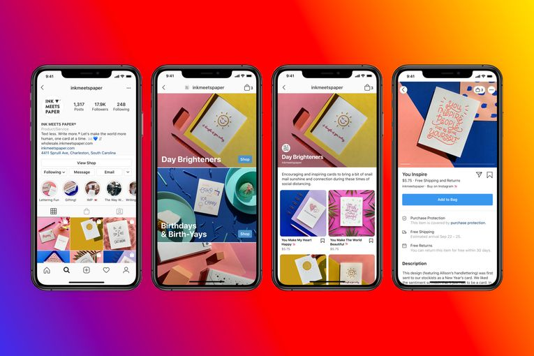 Facebook and Instagram chase e-commerce with social storefronts called 'Shops'