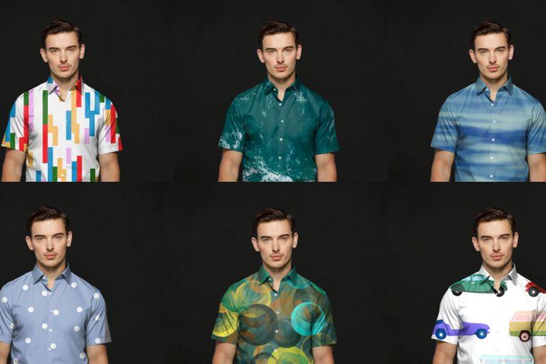Harry Rosen: Green Screen Shirt