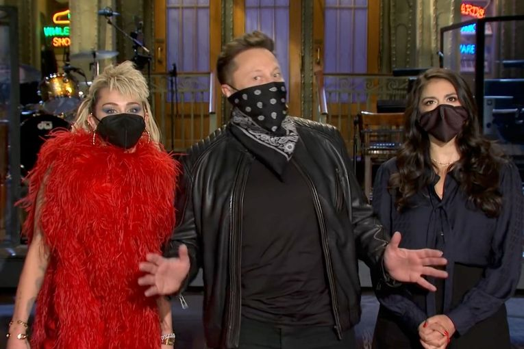 Watch Elon Musk's awkward 'SNL' promos—plus, why his hosting stint is so controversial