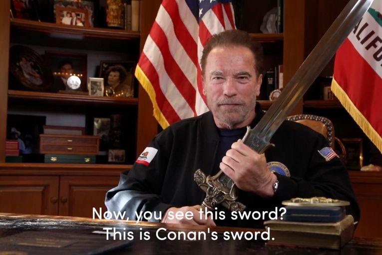 Arnold Schwarzenneger: Message to Fellow Americans
