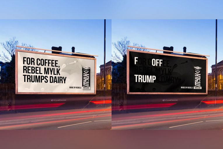 This Veganuary campaign contains hidden anti-Trump messages