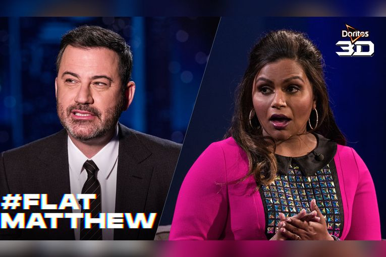 Doritos Super Bowl teaser stars Jimmy Kimmel and Mindy Kaling