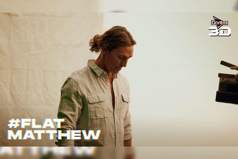 Matthew McConaughey is heard but not seen in the next Doritos Super Bowl teaser
