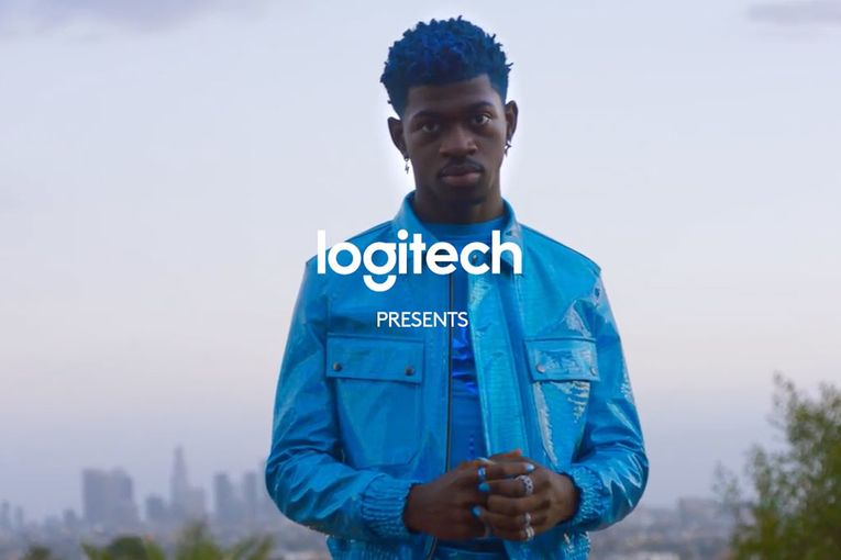Watch Lil Nas X star in Logitech's Super Bowl ad