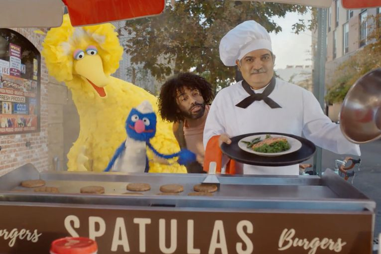 See DoorDash's Super Bowl spot starring Daveed Diggs and the Sesame Street Muppets