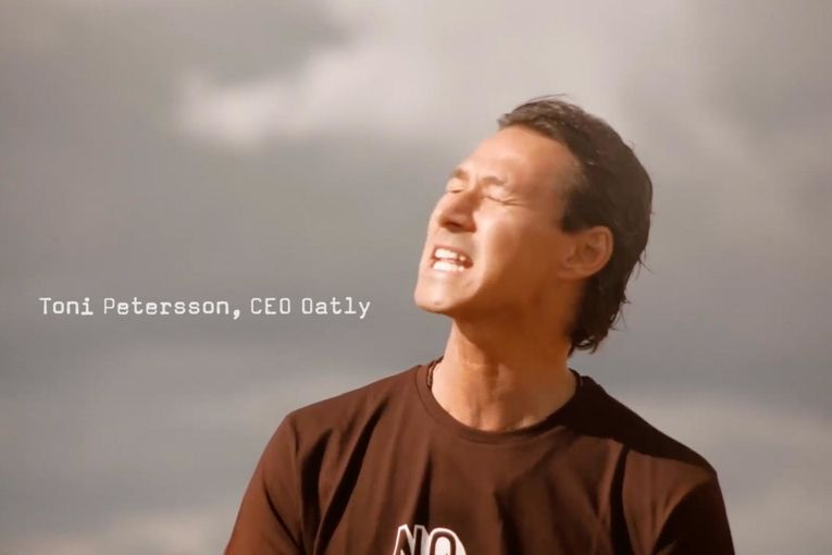 See Oatly bring a 2014 ad banned in Sweden to the U.S. for its Super Bowl debut