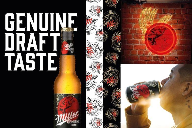 Miller Genuine Draft makes 'genuine' the keyword in new U.S. rebrand