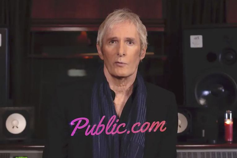 Michael Bolton croons a breakup song for investing app Public.com, following Robinhood and Reddit fiasco