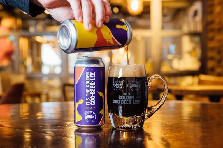 Cadbury made a Creme Egg-flavored beer