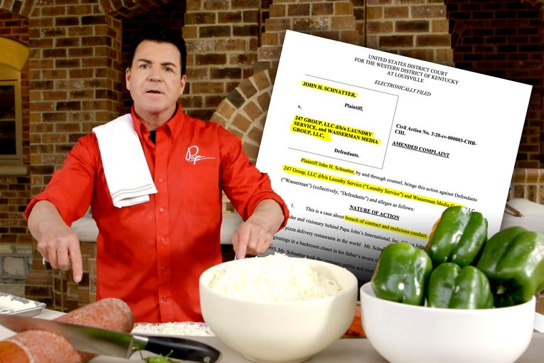 Papa John's founder alleges former Laundry Service CEO is caught on tape conspiring to send him 'out to pasture'
