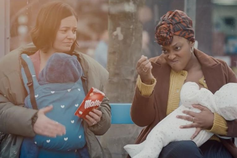 Mars Wrigley candy brand takes an honest look at breastfeeding in campaign supporting mothers' mental health