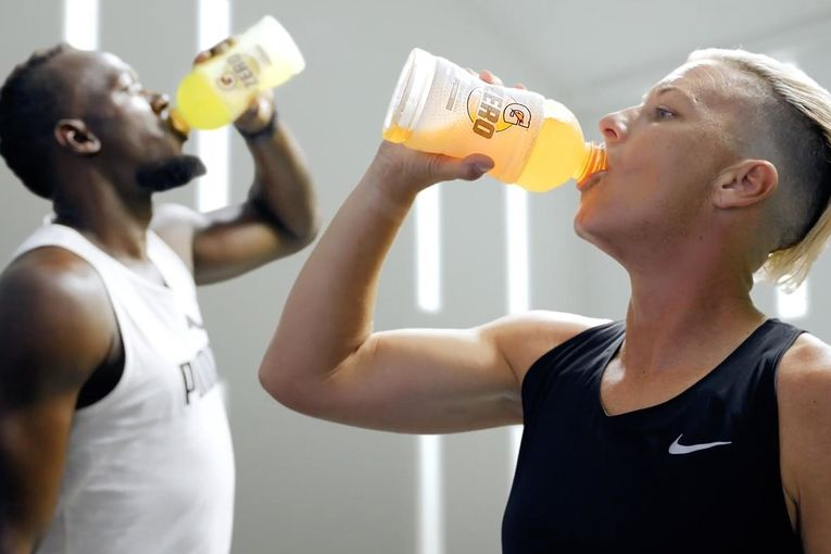 Gatorade remakes its old Michael Jordan vs. Mia Hamm ad with Abby Wambach and Usain Bolt