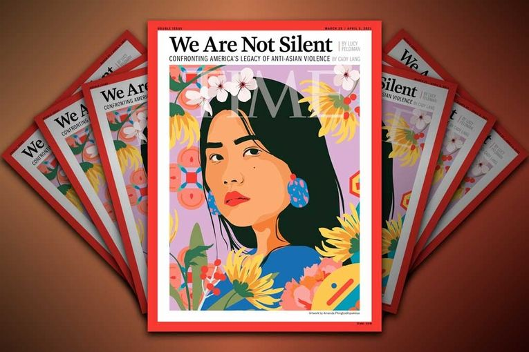 Time's stunning cover confronts the anti-Asian violence plaguing the country
