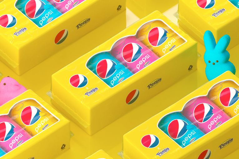 Pepsi hooks up with Peeps for marshmallow soda