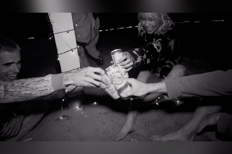 Why White Claw, which has grown without a lot of advertising, is now embracing it