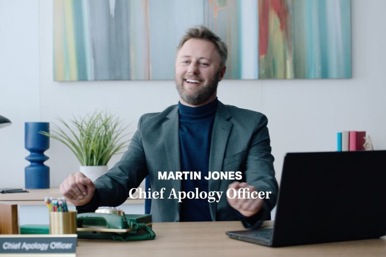 Qualtrics: Chief Apology Officer