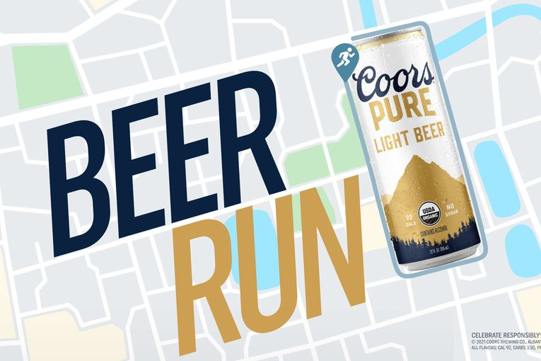 Molson Coors launches organic Coors Pure with an actual beer run