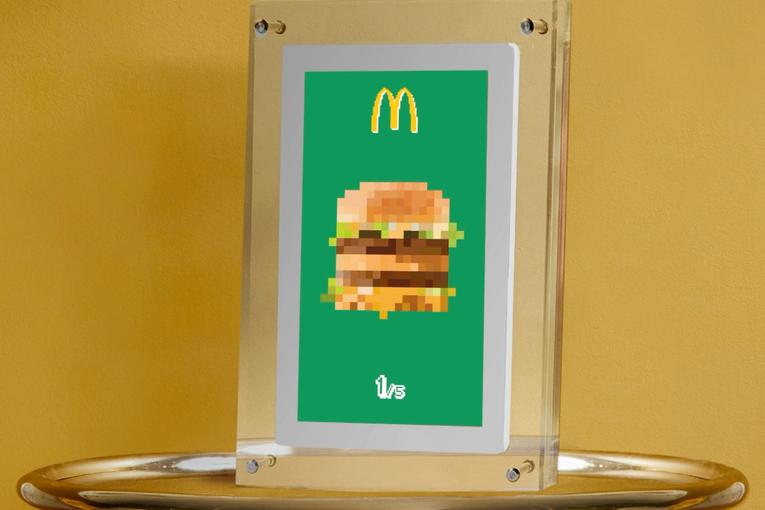 McDonald's drops Big Mac and Fries NFTs—but you can't buy them