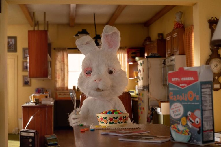 Taika Waititi's latest quirky character is a bunny with a dark backstory—and a worse fate