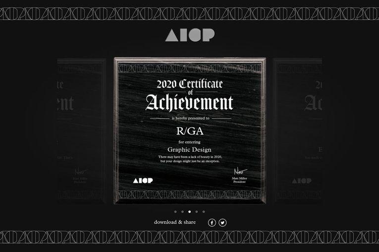 AICP: Awards Generator