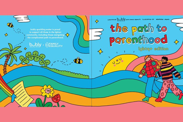 Bubly creates a children's book for International Family Equality Day campaign
