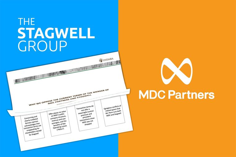Duel rages over Stagwell's merger deal with MDC