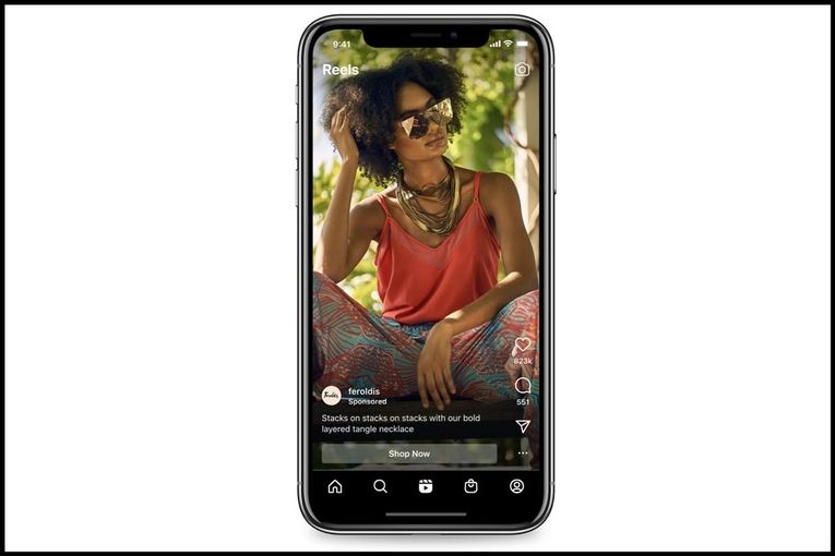 Instagram adds ads to Reels