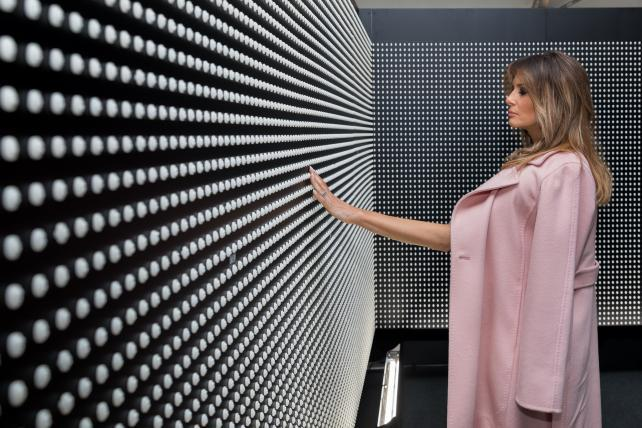 Hey, media, here are 9 photos of Melania Trump you don't have to pay her to use