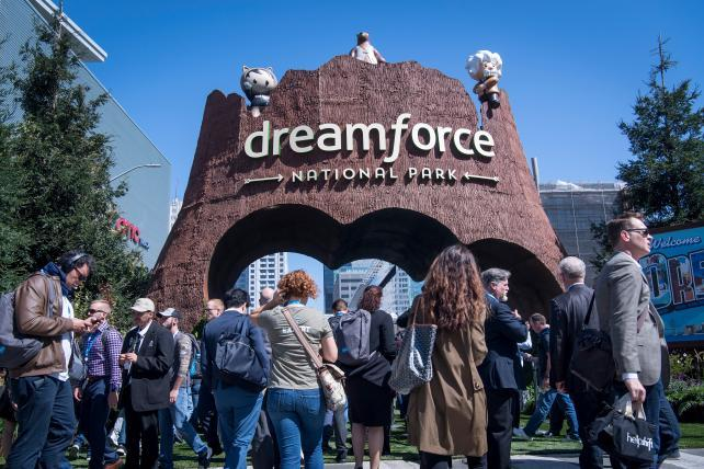 Tech, drugs and rock 'n' roll: Inside Salesforce Dreamforce
