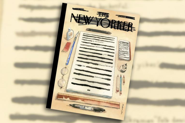 The New Yorker redacts itself