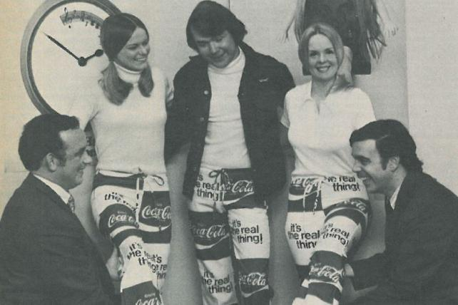 McCann Makes Coke Pants, Celebrates Miller Win: Real Mad Men Headlines