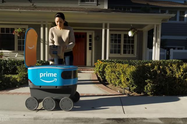 Amazon's delivery robot, Gillette's sales and layoffs at BuzzFeed and Verizon: Thursday Wake-Up Call