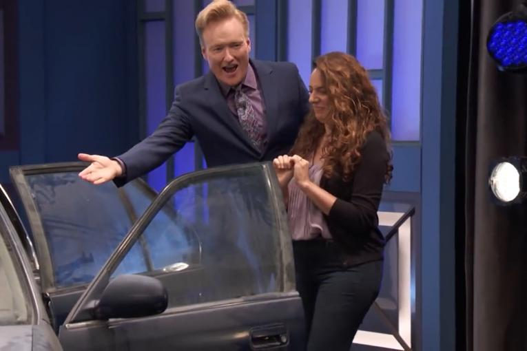 Turner Ignite: Thanks to Autotrader, Conan helps his assistant buy a new car