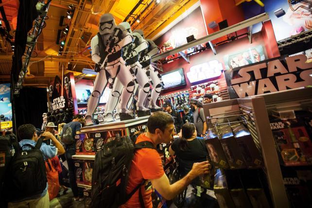 Retailers Put Full Force Behind New 'Star Wars' Merchandise