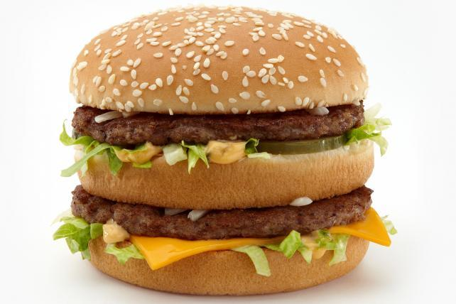 McDonald's makes a big, beefy antibiotics pledge