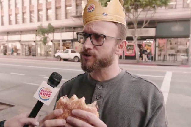Watch the newest TV commercials from Burger King, Qatar Airways, Mitsubishi Electric and more