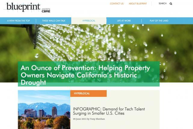 CBRE Extends Content Marketing Program With Online Magazine