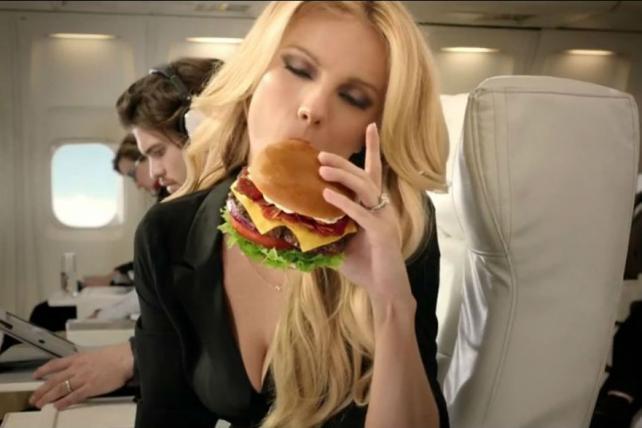 Ad Review: Carl's Jr. Ad Makes Us Think Herpes, not Hamburgers
