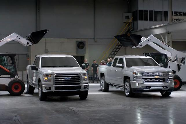 Chevy Escalates Silverado Advertising Battle With Ford F-150