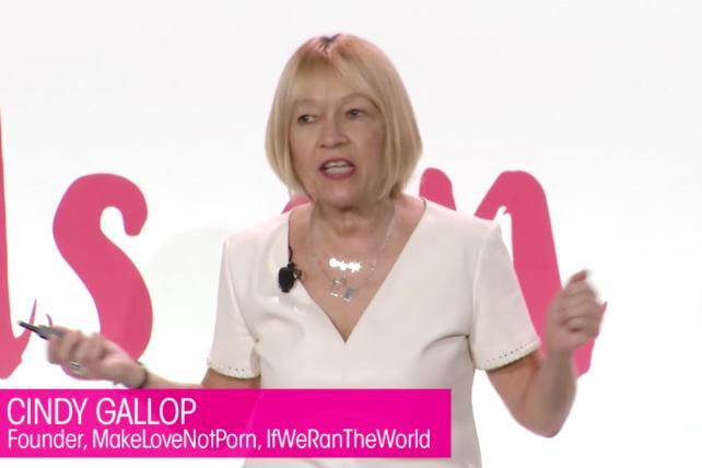 Cindy Gallop Tells 3% Conference Attendees: Start Your Own Agency