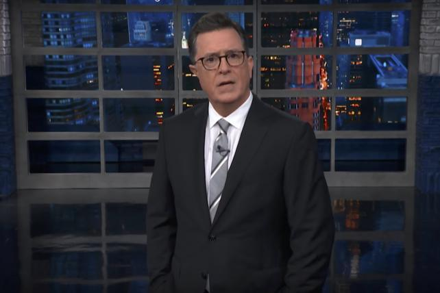 Tuesday Wake-Up Call: Stephen Colbert has thoughts about Leslie Moonves, his boss. And Beyoncé one-ups Vogue